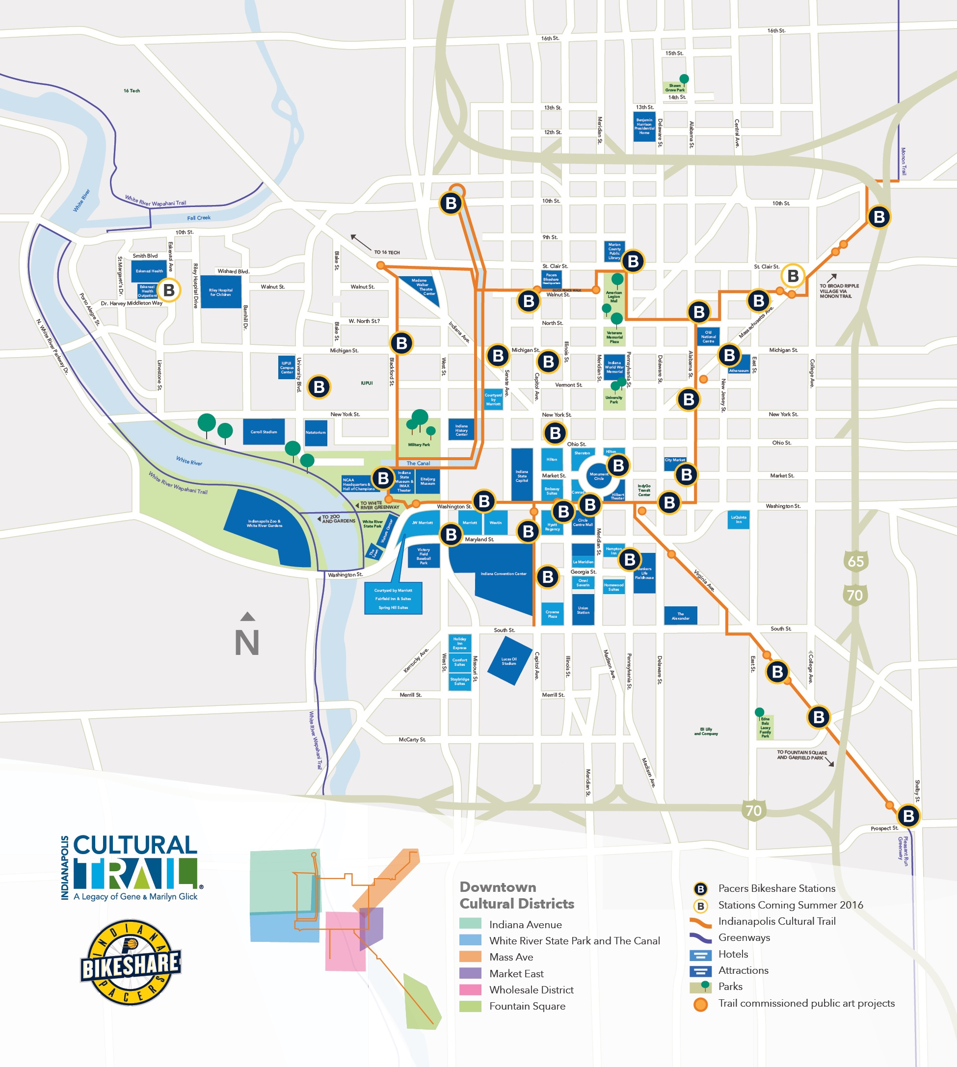 map indianapolis cultural trail